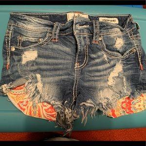 COPY - Size 25 nickel day trip shorts